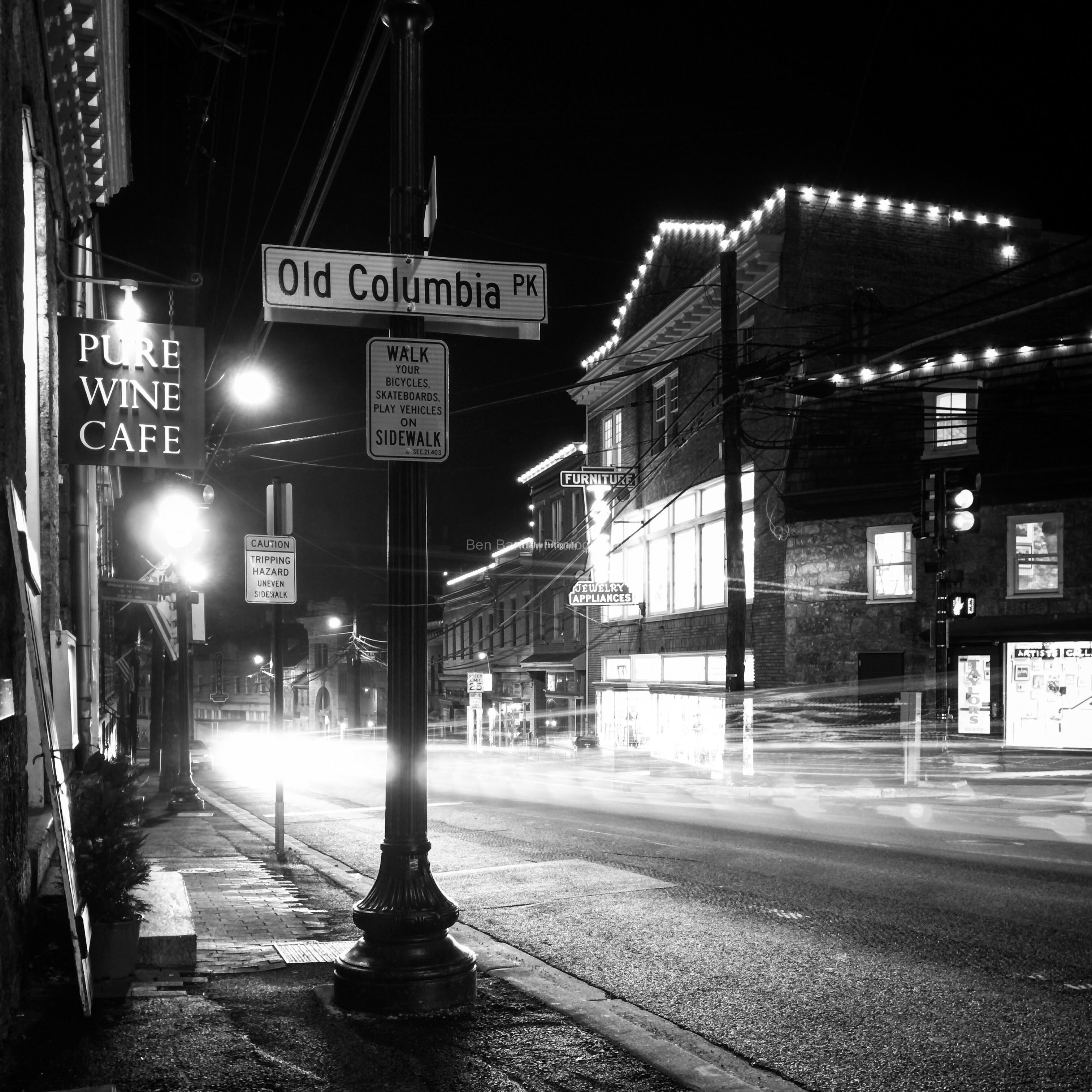 Main Street and Old Columbia Pike, Ellicott City, Md.