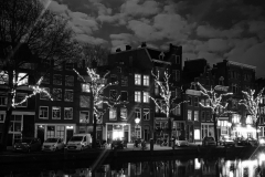 Full Moon Canal Houses, Amsterdam