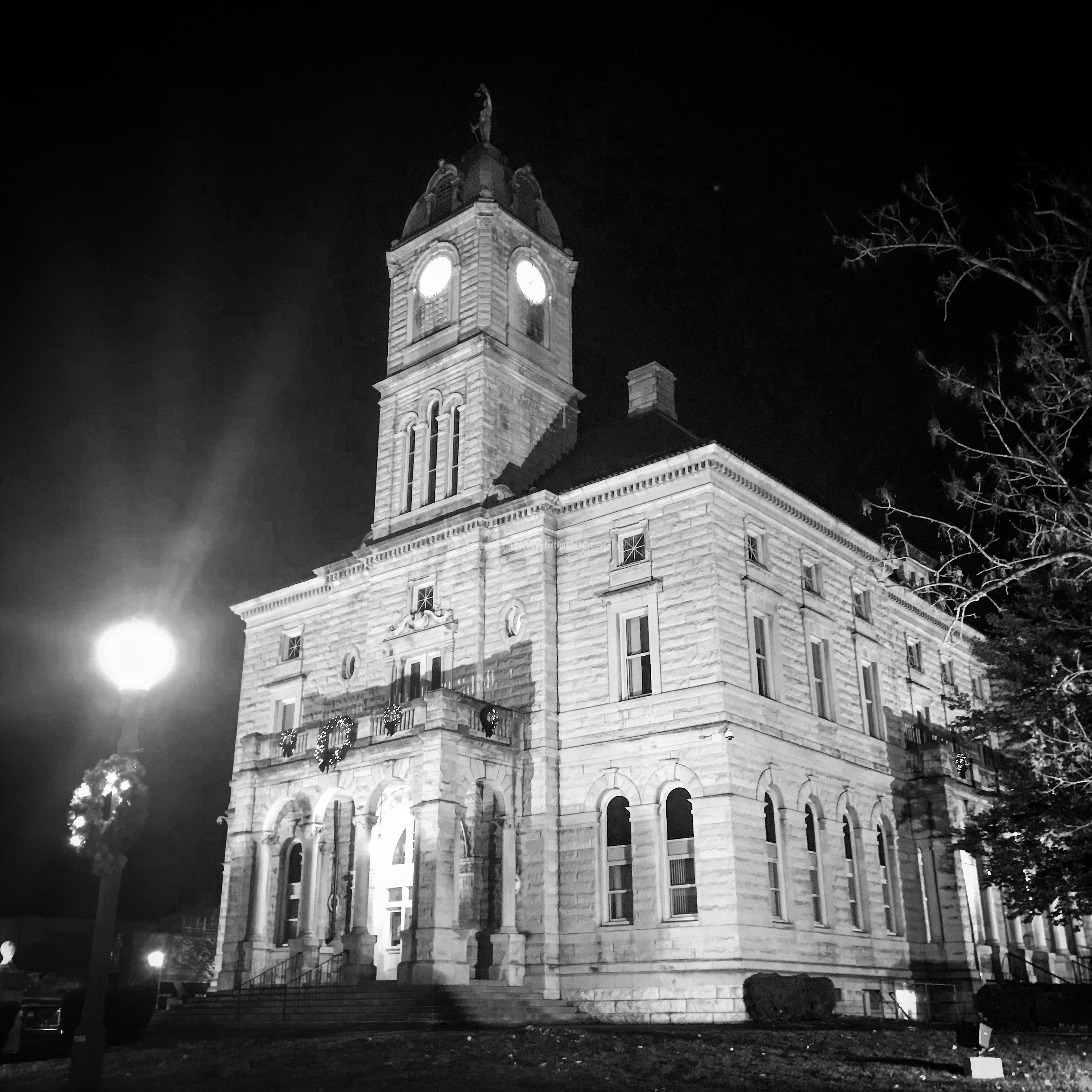 The Rockingham County Courthouse, Harrisonburg, Virginia