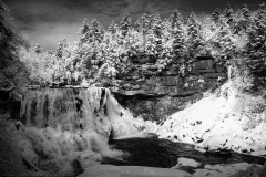 Blackwater Falls in Winter, Canaan Valley WV